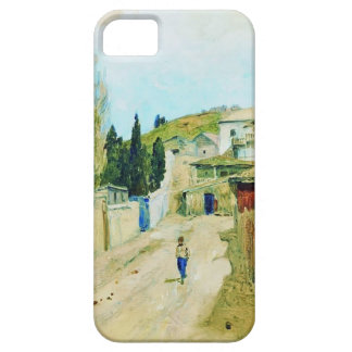 Calle de Isaac Levitan- en Yalta iPhone 5 Fundas
