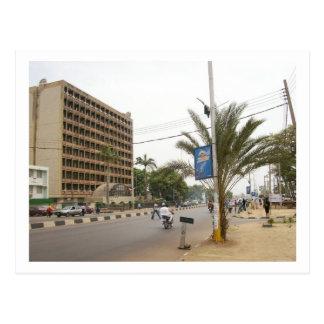 Calle de Kaduna, Nigeria Tarjeta Postal