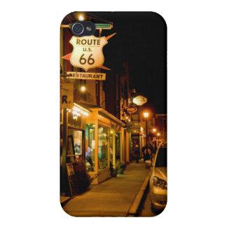 Calle de la cabaña, puerto de la barra iPhone 4/4S carcasas