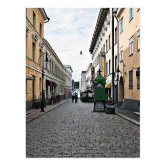 Calle de la ciudad de Helsinki Postales