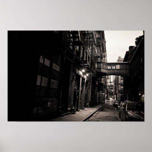 Calle de la grapa - Tribeca - New York City Impresiones