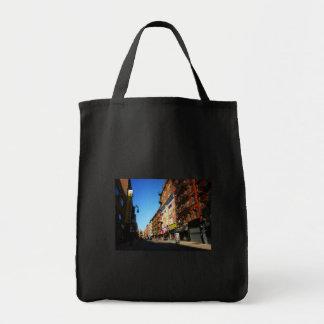 Calle de la huerta, una zona este más baja, NYC Bolsa Tela Para La Compra