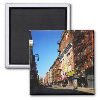 Calle de la huerta, una zona este más baja, NYC Imán Cuadrado