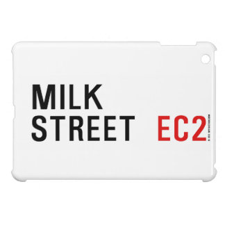 Calle de la leche iPad mini fundas