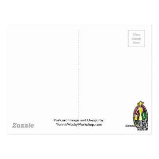 Calle de la moda tarjetas postales