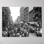 Calle de la mora, NYC, 1900 Impresiones