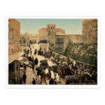Calle de la torre de David, el bazar, Jerusale Postal