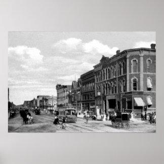 Calle de Lincoln Nebraska O Posters