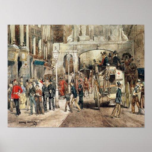 Calle de Londres, 1869 Póster