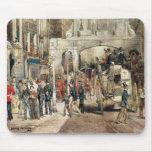 Calle de Londres, 1869 Tapete De Raton