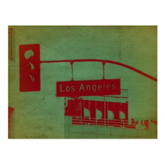 Calle de Los Ángeles Tarjeta Postal