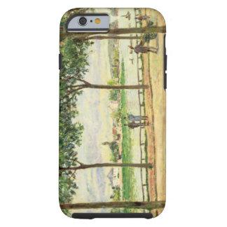 Calle de los árboles de castaña española por el funda para iPhone 6 tough
