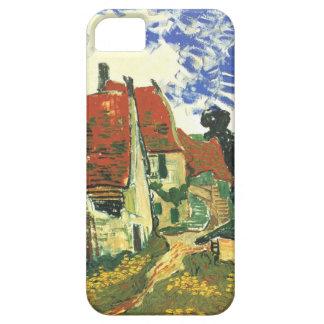 Calle de los pueblos de Van Gogh en Auvers iPhone 5 Carcasa