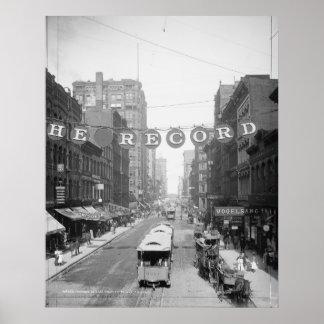 Calle de Madison Poster