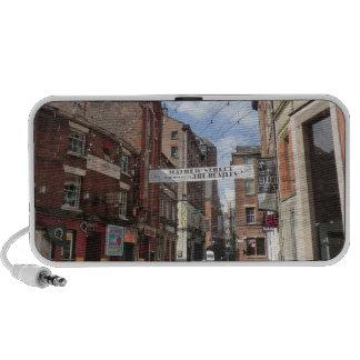 Calle de Mathew en Liverpool iPhone Altavoz