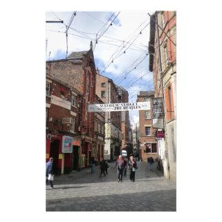 Calle de Mathew en Liverpool Papeleria De Diseño