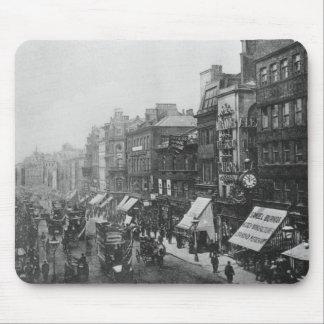 Calle de mercado, Manchester, c.1910 Alfombrillas De Raton