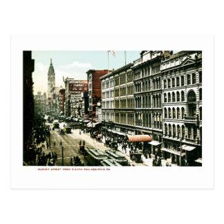 Calle de mercado, Philadelphia, PA Postal