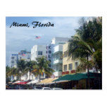 calle de Miami Tarjetas Postales