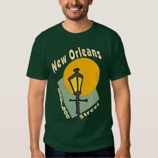 Calle de New Orleans Borbón Playeras