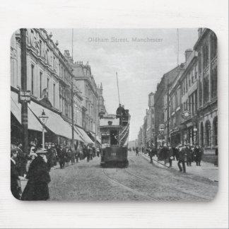 Calle de Oldham, Manchester, c.1910 Tapete De Ratones