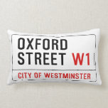 Calle de Oxford Cojines