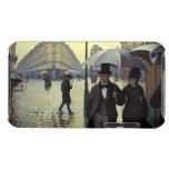 Calle de París, día lluvioso de Gustave Barely There iPod Funda