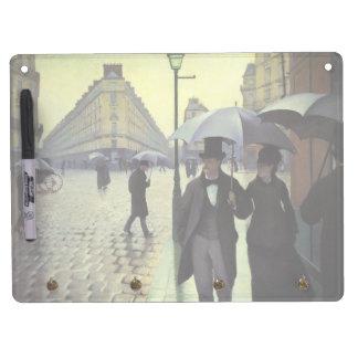 Calle de París, día lluvioso de Gustave Pizarras Blancas De Calidad