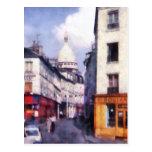 Calle de París Tarjetas Postales