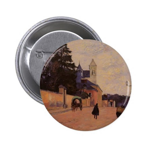 Calle de Paul Gauguin- en Ruán Pin Redondo 5 Cm