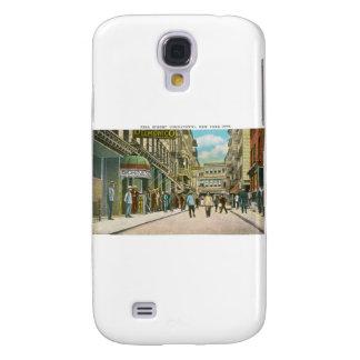 Calle de Pell (CHINATOWN), New York City (vintage) Funda Samsung S4