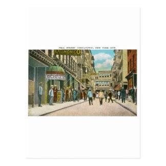 Calle de Pell (CHINATOWN), New York City (vintage) Tarjetas Postales