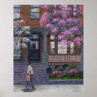 Calle de Philadelphia en impresiones y posters de