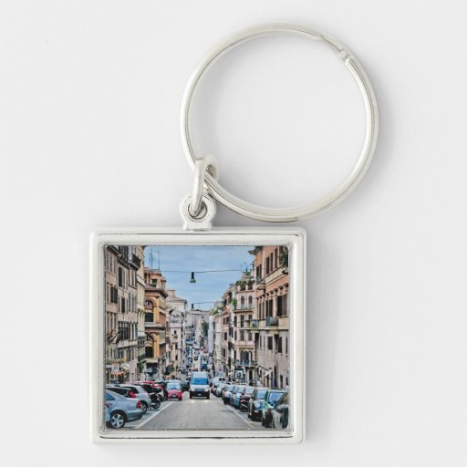 Calle de Roma Llaveros Personalizados