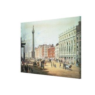 Calle de Sackville, Dublín Lona Estirada Galerías