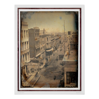 Calle de Sacramento - versión invertida (40089) Posters