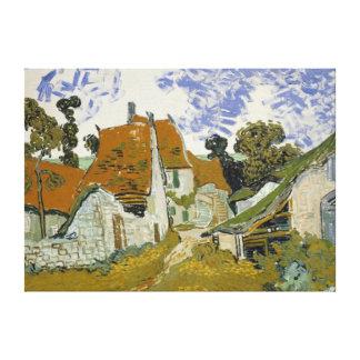 Calle de Vincent van Gogh en Auvers-sur-Oise Lona Estirada Galerias
