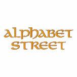 Calle del alfabeto sudadera embordada personalizada