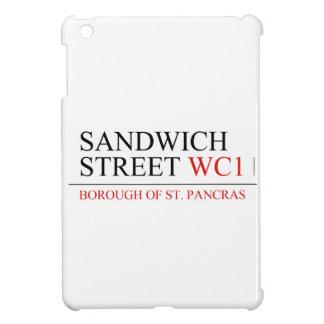 Calle del bocadillo iPad mini protector
