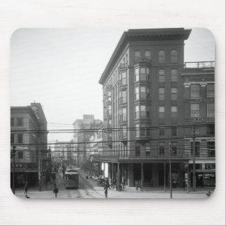 Calle del campo, New Orleans: 1906 Tapetes De Ratones