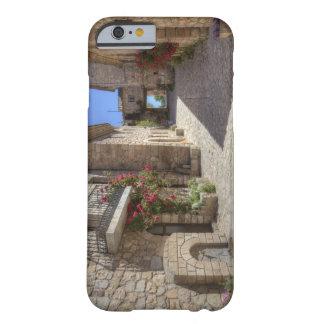 Calle del guijarro, edificios de piedra, funda barely there iPhone 6