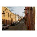 Calle del Hidalgo, San Miguel de Allende Tarjetón