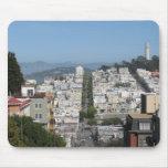 Calle del lombardo de San Francisco Alfombrilla De Raton
