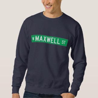Calle del maxwell, placa de calle de Chicago, IL Suéter