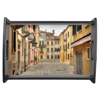 Calle Del Montello, Venecia Italia Bandeja