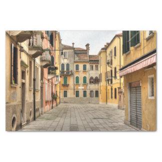 Calle Del Montello, Venecia Italia Papel De Seda Pequeño