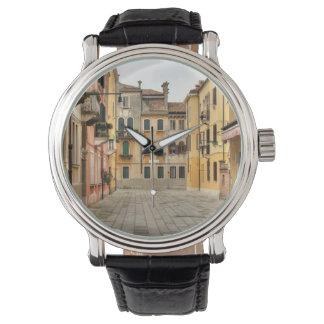 Calle Del Montello, Venecia Italia Relojes De Pulsera