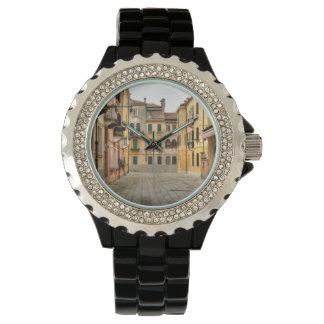 Calle Del Montello, Venecia Italia Reloj