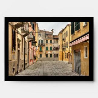 Calle Del Montello, Venice Italy Envelope