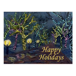 Calle del navidad tarjetas postales